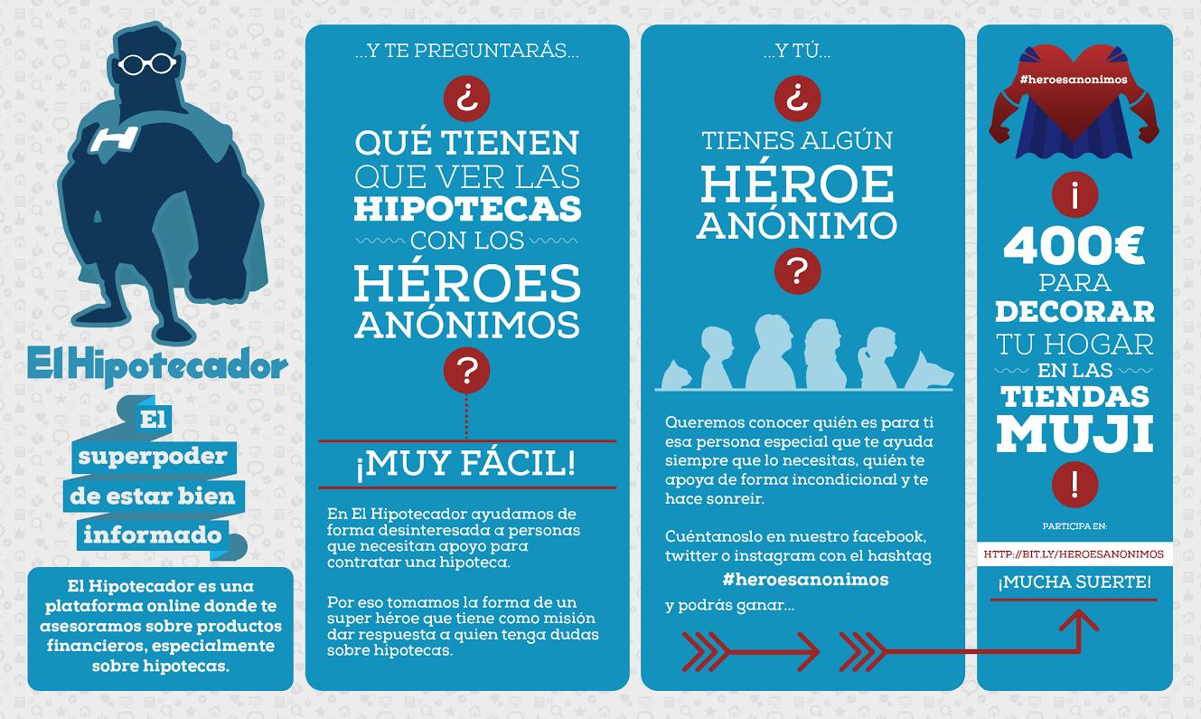 Infografia #heroesanonimos