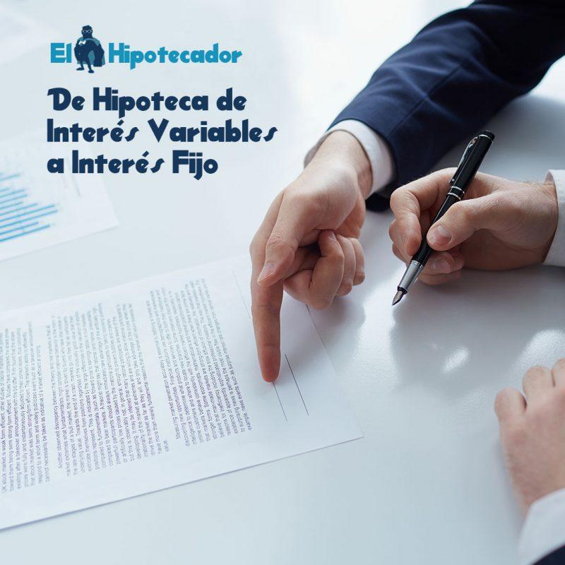 Las hipotecas de inter s variable podr n ser de inter s fijo for Hipoteca interes fijo